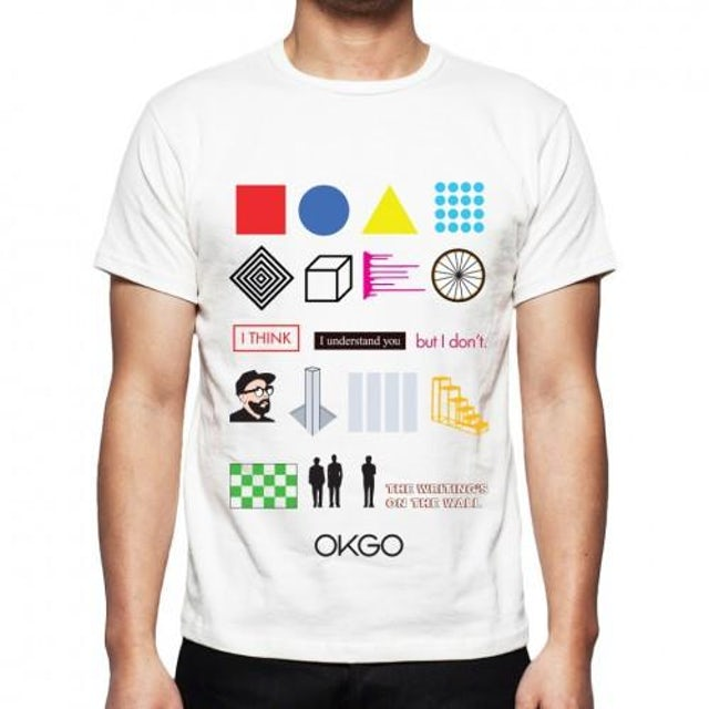 Ok Go The Writing's On the Wall Video Tee