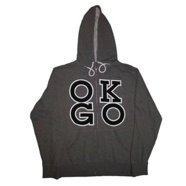 Ok Go Square Logo Zip Hoodie
