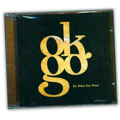 OK Go - Do What You Want EP CD