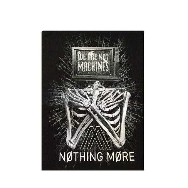 Nothing More - We Are Not Machines Back Patch