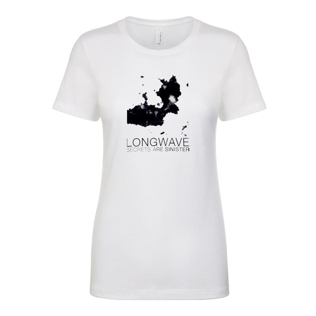 Longwave - Secrets Are Sinister Ladies Tee (White)