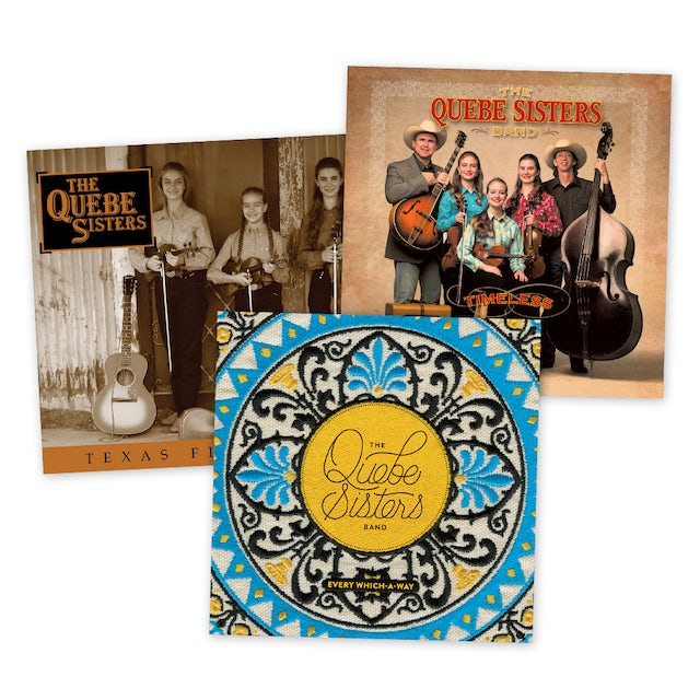 The Quebe Sisters - Physical CD Bundle