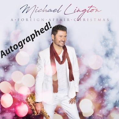 Michael Lington - A Foreign Affair Christmas Autographed CD