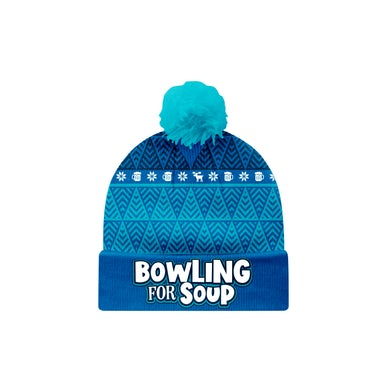 Bowling For Soup - Winter Bobble Beanie