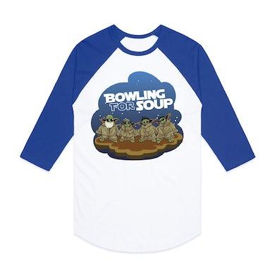 Bowling For Soup - Baby Yoda Baseball Tee