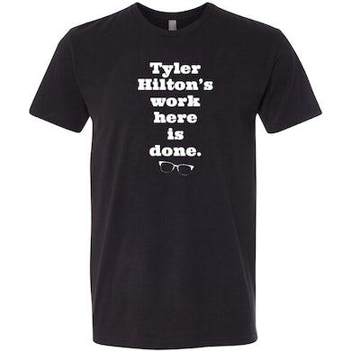 Tyler Hilton - Work Tee