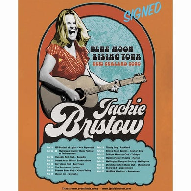 Jackie Bristow - Signed Poster (PRESALE FALL 2020)