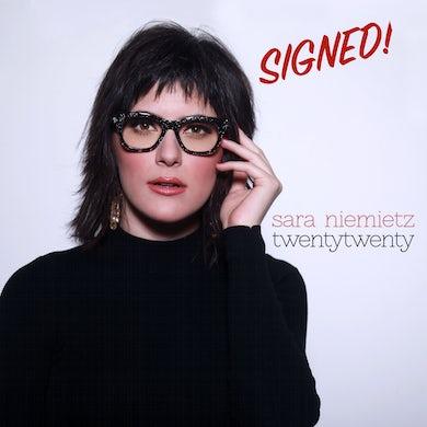 Sara Niemietz - TwentyTwenty Signed CD