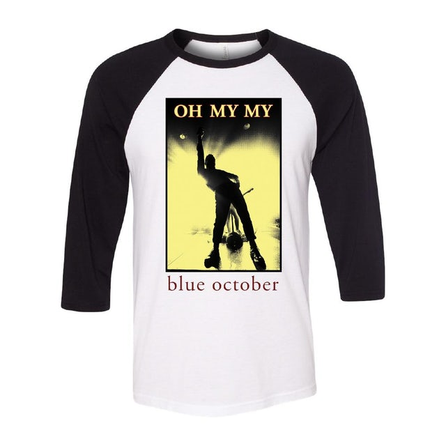 Blue October - Oh My My Baseball Tee