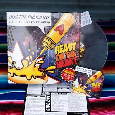 Justin Pickard - Heavy On The Heart Vinyl, CD, and Download Bundle