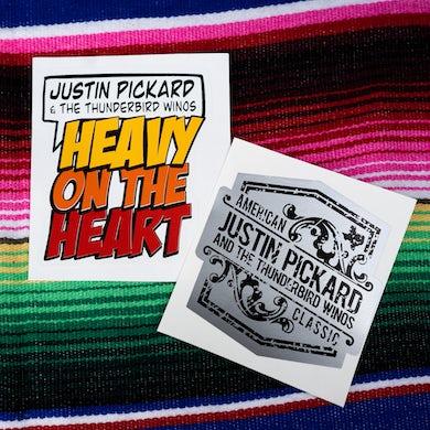 Justin Pickard - Heavy On The Heart Sticker