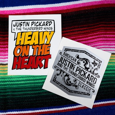 Justin Pickard - American Classic Sticker