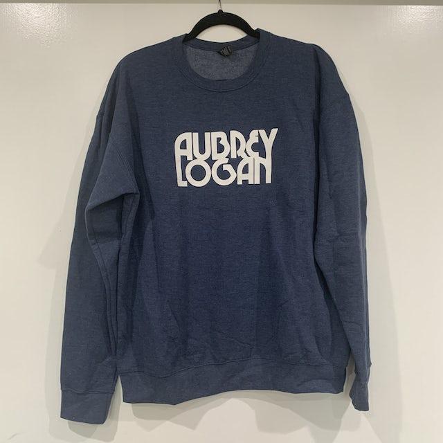 Aubrey Logan - Unisex Pullover Sweatshirt Faded Blue