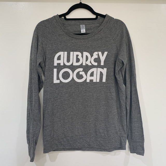 Aubrey Logan - Women's Long Sleeve Tee (Light Heather Gray)