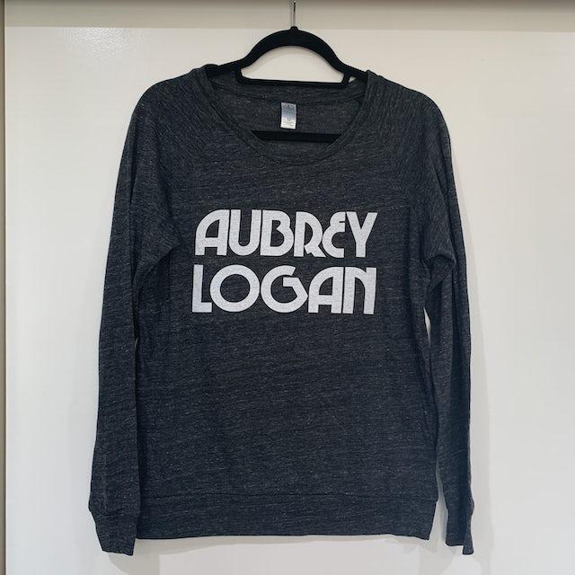 Aubrey Logan - Womens Long Sleeve Tee (Dark Gray)