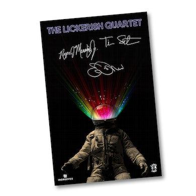 The Lickerish Quartet - Signed 11x17 Poster