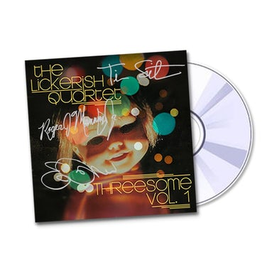 Autographed Threesome Vol. 1 EP on CD