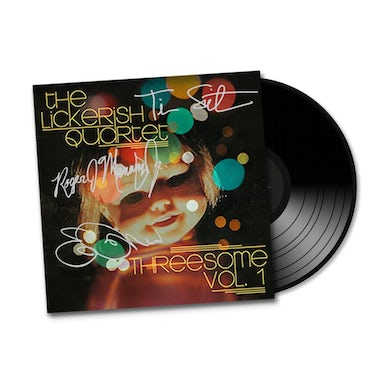 """Threesome Vol. 1"" SIGNED EP, Colored Vinyl + Instrumental Versions"