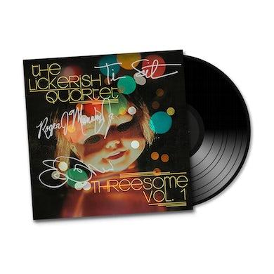 "The Lickerish Quartet - ""Threesome Vol. 1"" SIGNED EP, Colored Vinyl + Instrumental Versions"