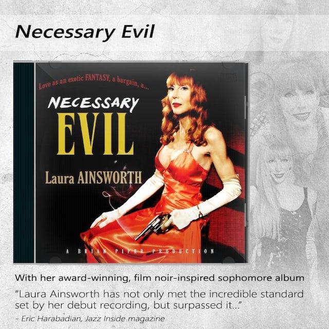 Laura Ainsworth - Necessary Evil CD