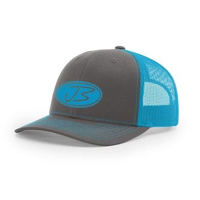 Jody Booth - 3D Logo Cap (Charcoal & Neon Blue)