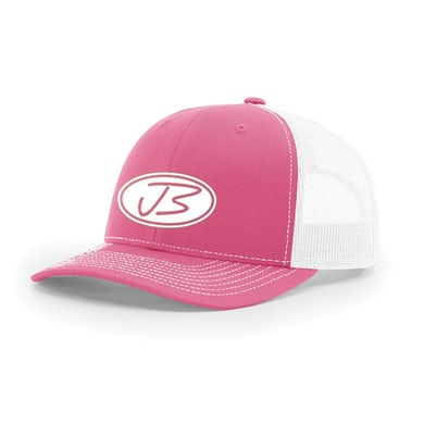 3D Logo Cap (Hot Pink & White)
