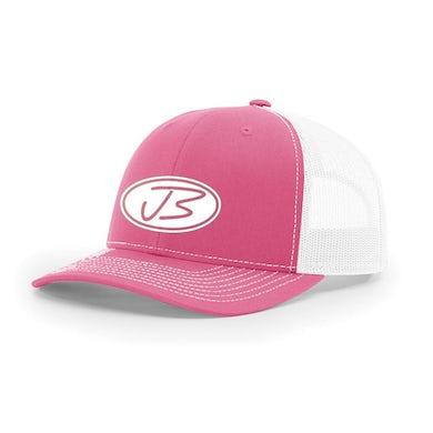 Jody Booth - 3D Logo Cap (Hot Pink & White)