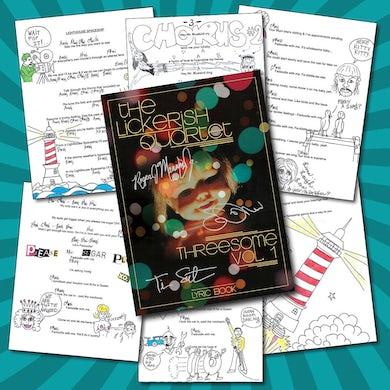 The Lickerish Quartet - Signed Music and Lyric Book
