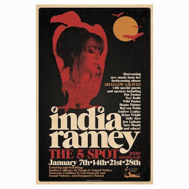 India Ramey - Residency Poster