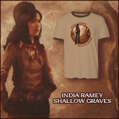 India Ramey - Shallow Graves Ringer Tee