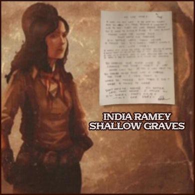 India Ramey - Handwritten Lyric Sheet (PRESALE)