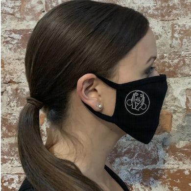 Jody Watley - Silver Hoop Earrings Face Cover