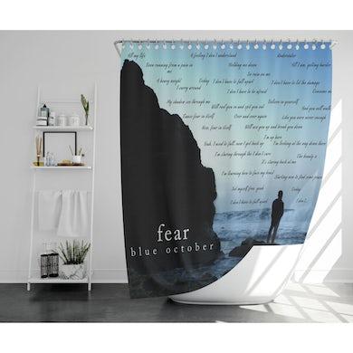 Blue October - Fear Shower Curtain