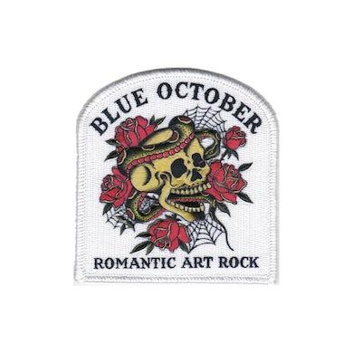 Blue October - Romantic Art Rock White Patch