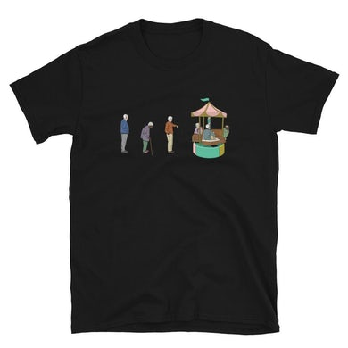 Hurry Up And Wait Official T-Shirt