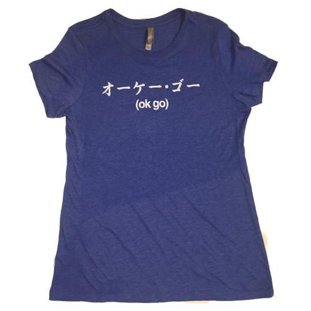 Ok Go Ladies Katakana Tee