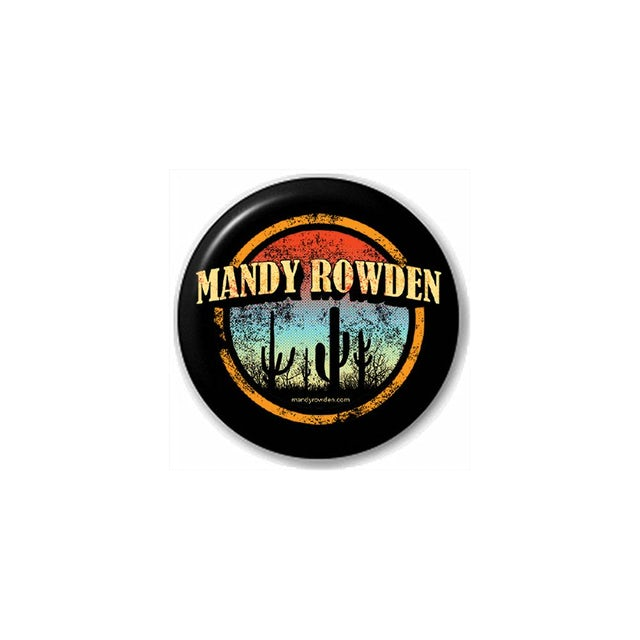 Mandy Rowden - Sunset Cactus Button