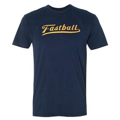 Fastball - Script Logo Tee (Navy)