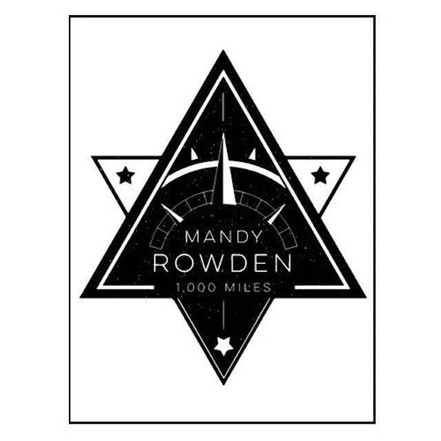 Mandy Rowden - 1000 Miles Sticker