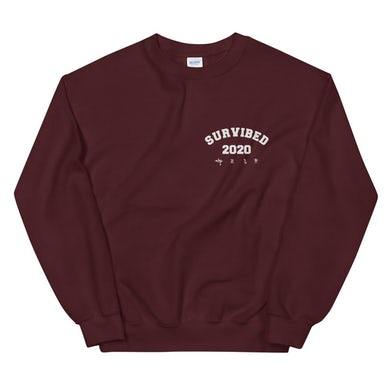 SUR - SURVIBED 2020 Sweatshirt (Maroon)