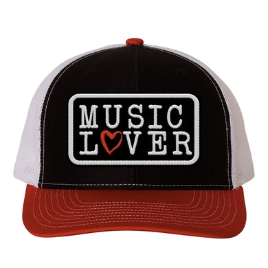 Support Local Music - Music Lover Trucker Hat - Red
