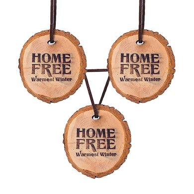 Warmest Winter Wooden Ornament (Set of 3)