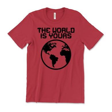 The World Is Yours Tee (PRESALE 05/14/21)