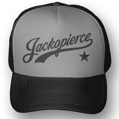 Logo Trucker Hat - Grey/Black