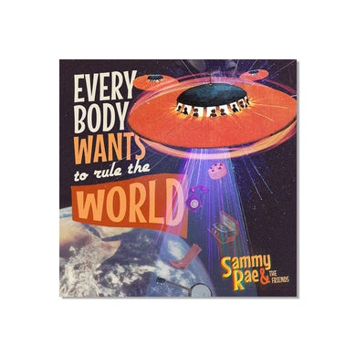& The Friends - Everybody Wants to Rule the World Poster