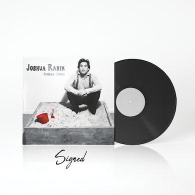 Joshua Radin - Simple Times Autographed Vinyl