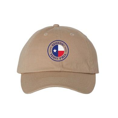 Texit Yall - Secede Cap (Khaki)