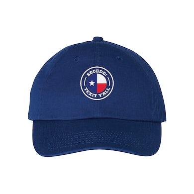 Texit Yall - Secede Cap (Royal)