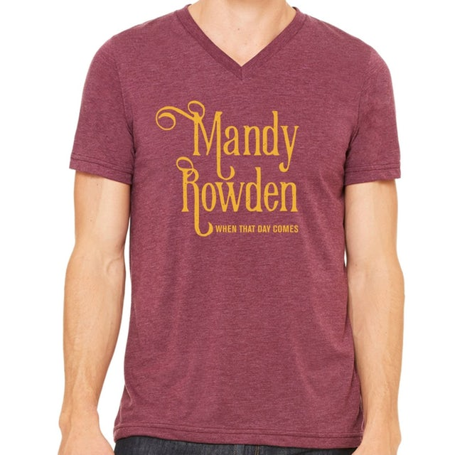Mandy Rowden - When That Day Comes V-neck Tee