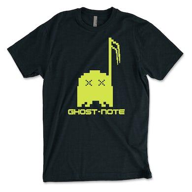 Ghost-Note - Neon Original Logo on Black Unisex Tee